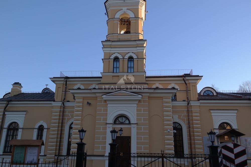 Храм Cергия Рaдонежского г. Пушкин