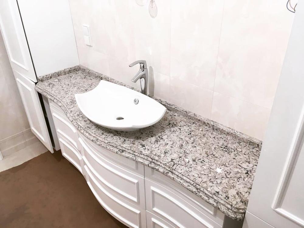 Столешница в ванную из агломерата Technistone