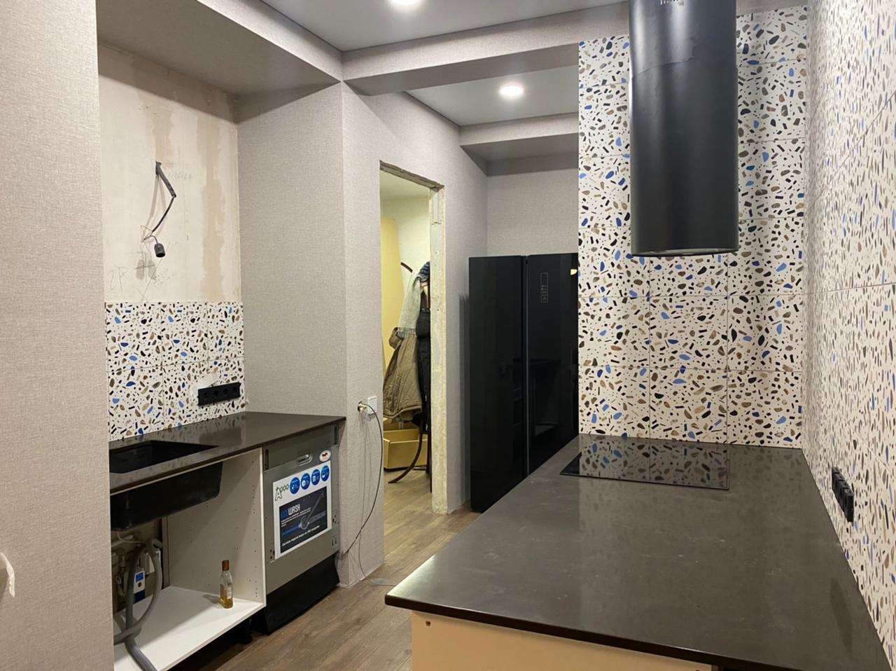 Столешница на кухню из кварцевого агломерата Technistone