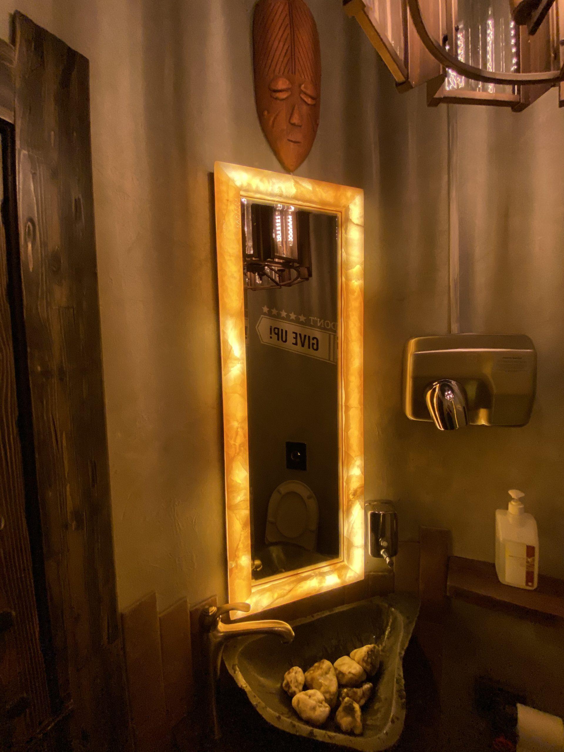 Рама для зеркал из onice miele