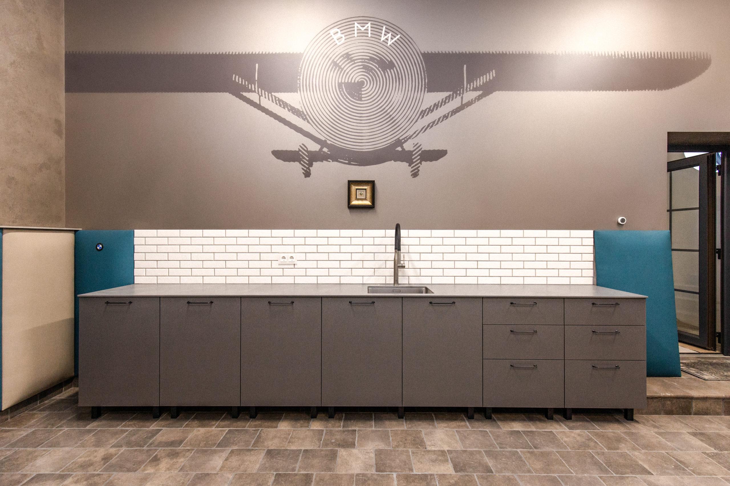 Столешница на кухню из кварцекерамики ITALSTONE
